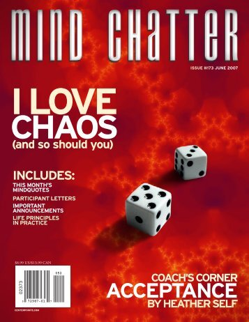 Mind Chatter #173 (June, 2007) (PDF)
