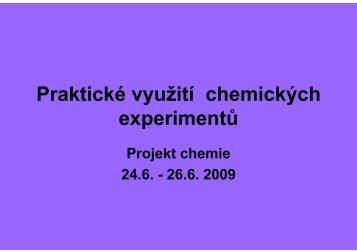 prezentace - Chemie na GJO