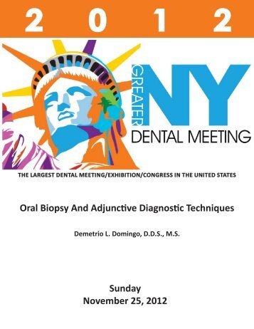 Domingo, Sunday, Nov. 25 AM, Course # 3180 - Greater New York ...