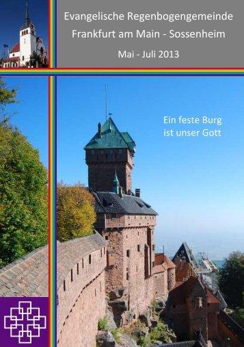 Gemeindebrief - Regenbogengemeinde