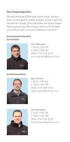 Ihr Wedeco Kundendienst auf einen Blick - Water Solutions - Page 3