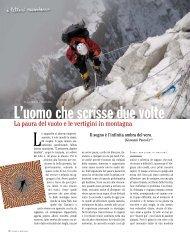 L'uomo che scrisse due volte - Le vertigini in montagna - Ardia.ch