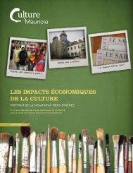 Les impacts économiques de la culture à Trois-Rivières