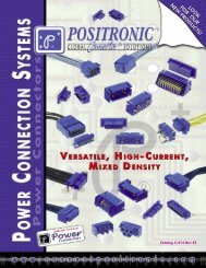 Power Connection Systems Catalogue - F C Lane