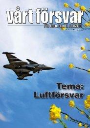 Nr 3/ 2012 Årgång 124 - Allmänna Försvarsföreningen