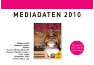 Mediadaten Sauna 2010:Layout 1.qxd - BT Verlag GmbH