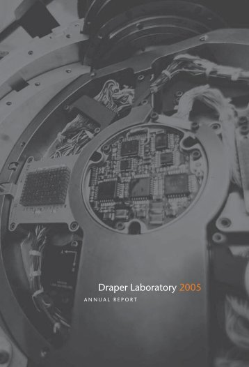 2005 Draper Laboratory Annual Report