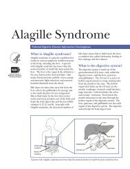 Alagille Syndrome - National Digestive Diseases Information ...