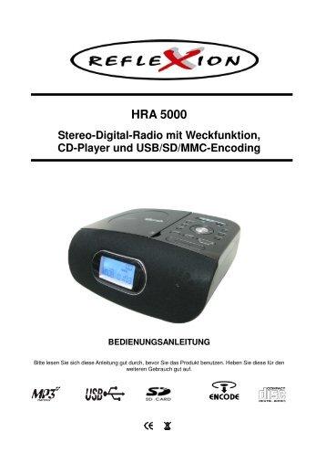 HRA 5000 - produktinfo.conrad.com