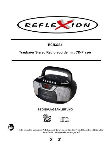 rcr3334 garantie - Reflexion