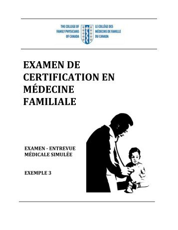 Exemple 3 - The College of Family Physicians Canada
