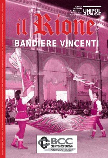 BANDIERE VINCENTI - Rione Rosso