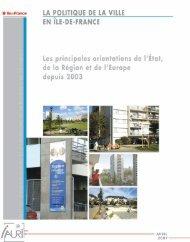 La politique de la ville en Île-de-France