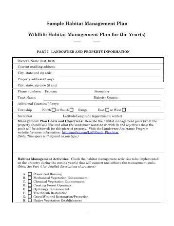 Management List Sample