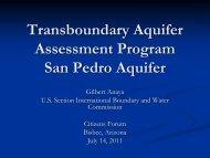 Transboundary Aquifer Assessment Program - US International ...