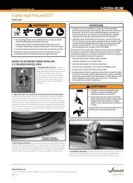 Cuplaj rigid FireLock EZ™ I-009H-RUM - Victaulic