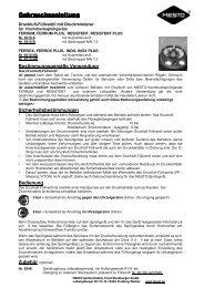 Gebrauchsanleitung Gebrauchsanleitung - Mesto