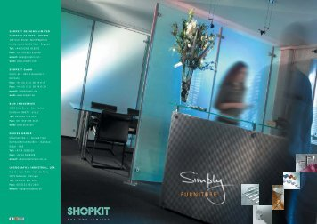 Simply Furniture - Shopkit Designs