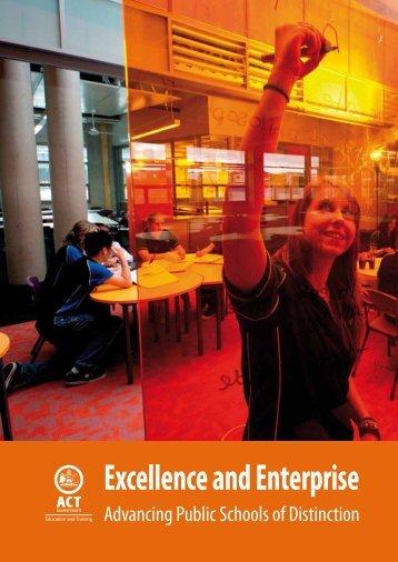 Excellence and Enterprise Advancing Public Schools of Distinction
