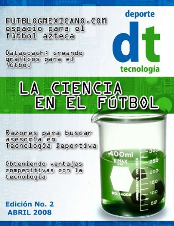 Revista Deporte Tecnologia – Abril 2008 - invicto TEAM