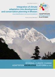 Report - Regional Climate Change Adaptation Knowledge Platform ...