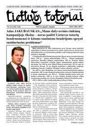 Lietuvos totoriai - VšĮ Tautinių bendrijų namai