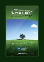 GUIA NATURALEZA:Maquetación 1 - web dip Badajoz - Diputación ...
