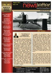 August 11 - Barrow Submariners Association