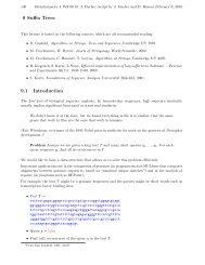 9 Suffix Trees 9.1 Introduction - Algorithms in Bioinformatics