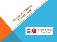 hollanda - türkiye ticaret odası - EBSO