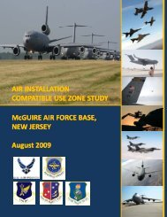 2009 Compatible Use Zone Study Report - Joint Base McGuire-Dix ...