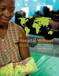 A Hospital Without Borders - Anna Dubrovsky