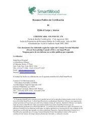 Resumen Publico de Certificación de Ejido el Largo y Anexos