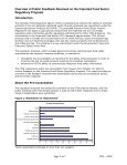 Overview of Public Feedback Received on the Imported Food Sector ... - Page 2