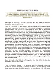 REPUBLIC ACT NO 7696