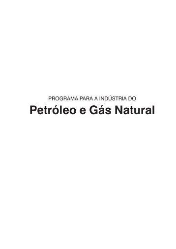 Petróleo e Gás Natural - Fiesc