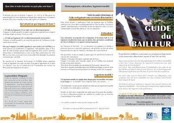 """Consultez le Guide """"bailleurs"""" - Caf.fr"""