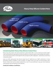 Heavy Duty Silicone Coolant Hose Straight & Elbows Flyer