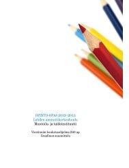 OPINTO-OPAS 2012–2013 Lahden ammattikorkeakoulu Muotoilu ...