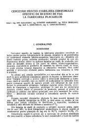 cercetari privind stabilirea consumului specific de ... - EdituraSilvica.ro