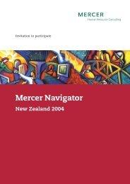 Mercer Navigator New Zealand 2004 - iMercer.com