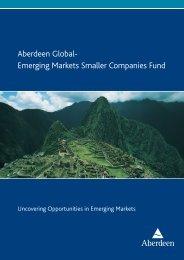 0207 GEM SmlCap Brochure A4 NEW.indd - Aberdeen Asset ...