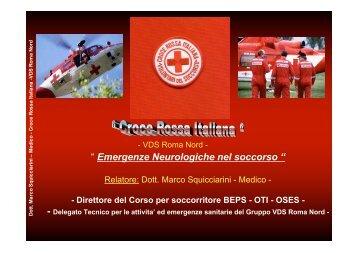 """"""" Emergenze Neurologiche nel soccorso """""""