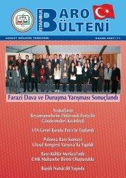 Farazi Dava ve Duruflma Yar›flmas› Sonuçland› - İstanbul Barosu