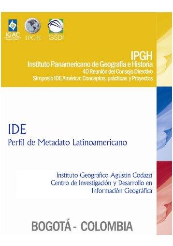Perfil de Metadato Latinoamericano - Sistema de Gestión de ...