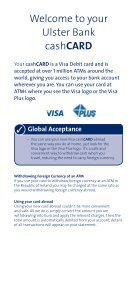 Your guide to getting the most from your card - Ulster Bank - Page 3