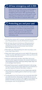Your guide to getting the most from your card - Ulster Bank - Page 4