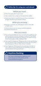 Your guide to getting the most from your card - Ulster Bank - Page 5