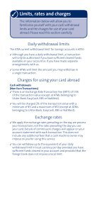 Your guide to getting the most from your card - Ulster Bank - Page 6