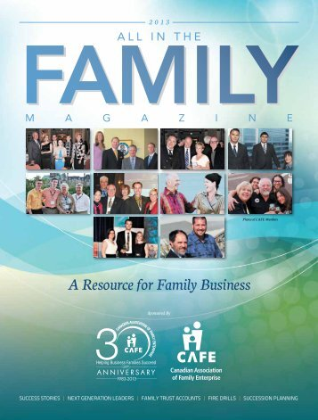 in the Family Magazine - The Business Link Niagara